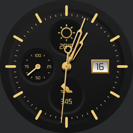 BLACK GOLD Watch Face