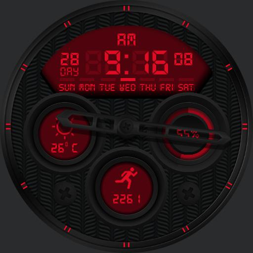 VOLCANO Watch Face