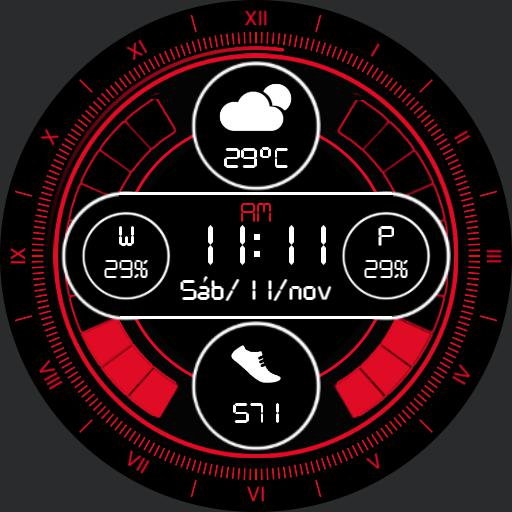 LIVE COLORS Watch Face