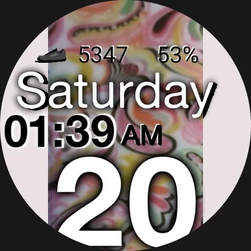 Watch Band Stripe White II 2021