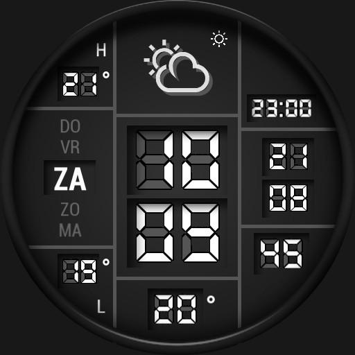 Digital watch 2000 Color