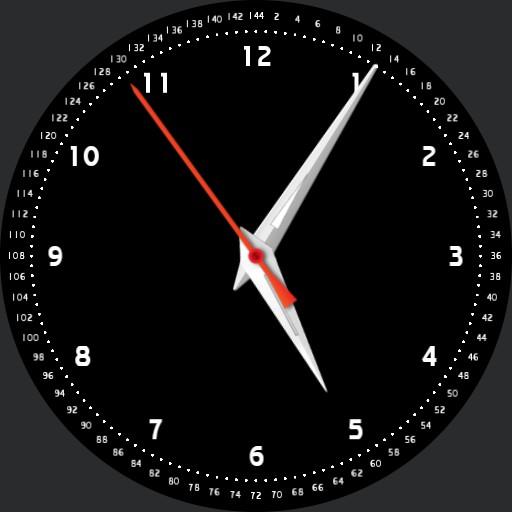 Sharpy Dozenal Uncial Time Watch
