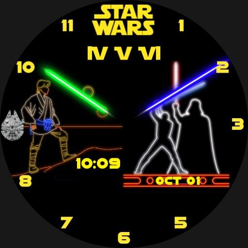 Star Wars Neon Project