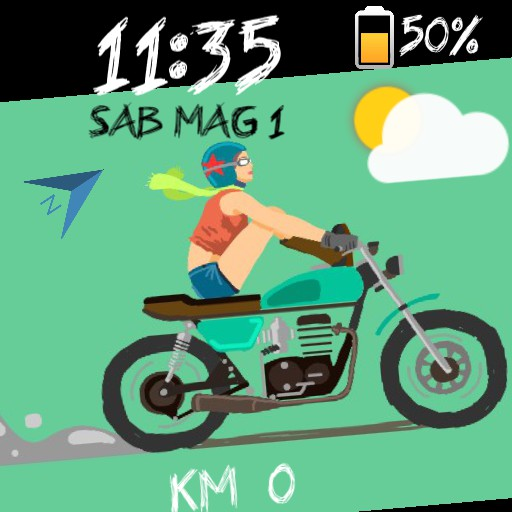 cafe racer woman
