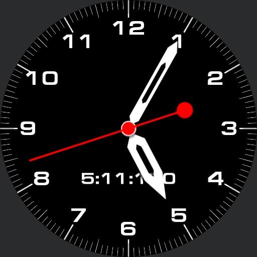 Dozenal Uncial Time Watch