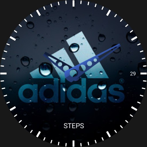 Kirans Adidas watch face
