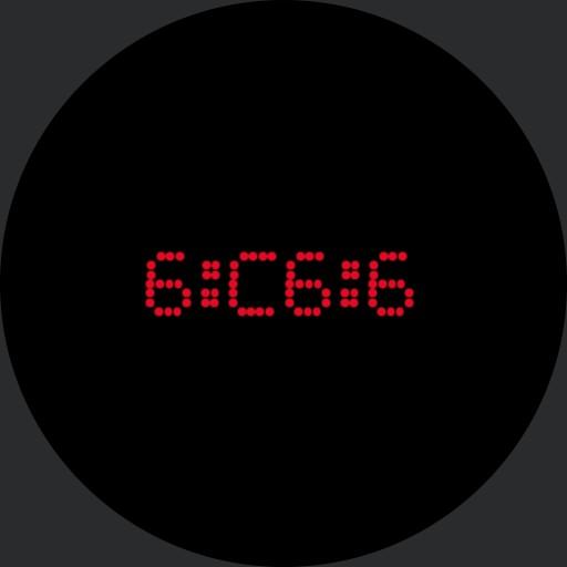 Simple Hex Clock