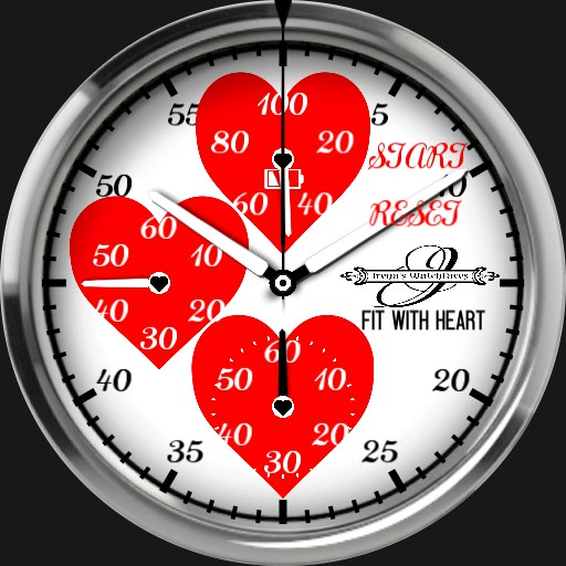 Stopwatch with Heart