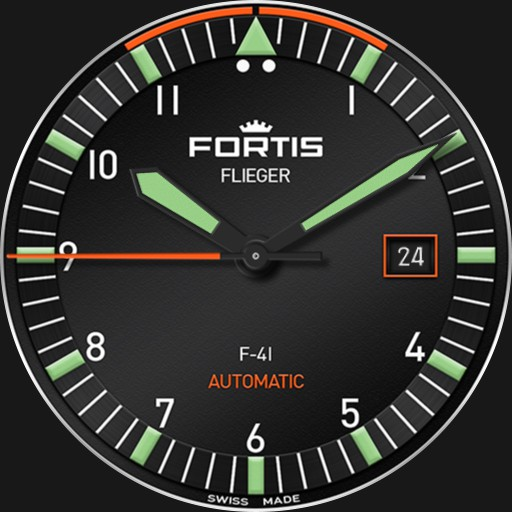FORTIS FLIEGER F-41 AUTOMATIC 2-in-1