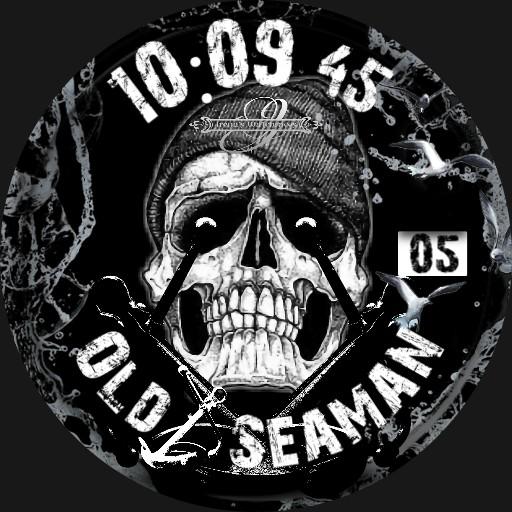 Old Seaman Skull