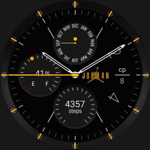 Air JORDAN Galaxy Watchface
