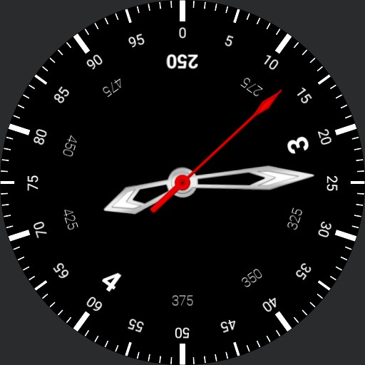 Alla Romana 2.5h Decimal Time Watch