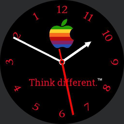 Apple Watch Retro Black color switcher