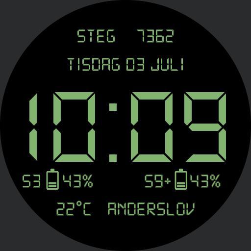 Digital Classic Green invert