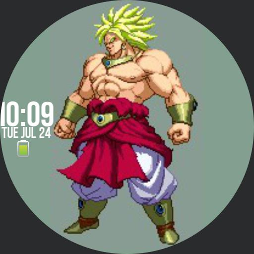 Broly DBZ animated