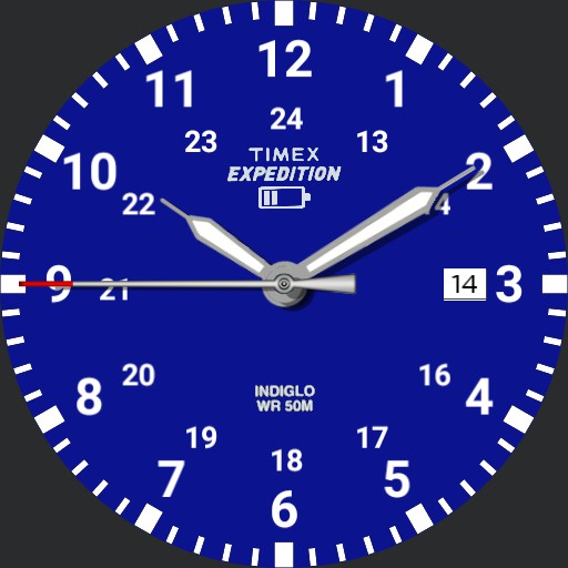 Timex Expedition Scout Blue Face