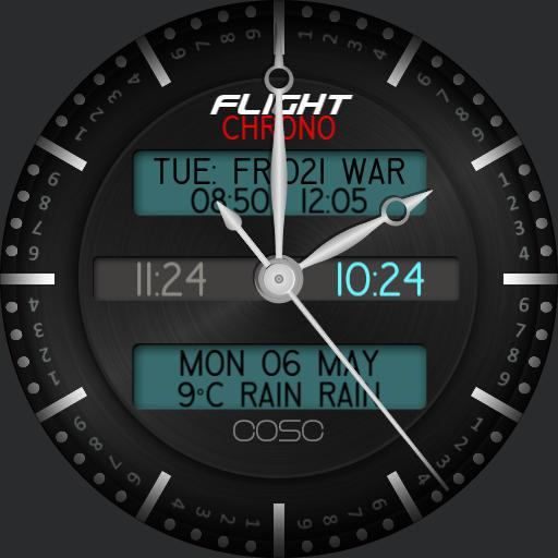 JRF Flight 11.00 chrono event