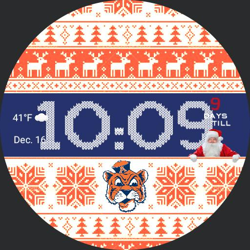 Auburn Tigers Christmas Weather
