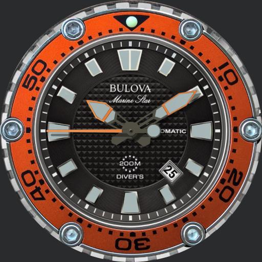 Bulova Marine Star 2014 Divers Watch / 98B207