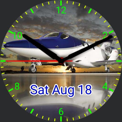 Honda Jet Watchface Revision