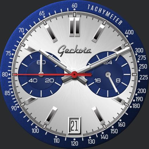 Geckota C-1 VK64 Racing Chronograph