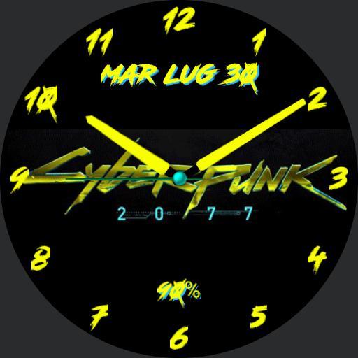 Cyberpunk 2077 logo analog