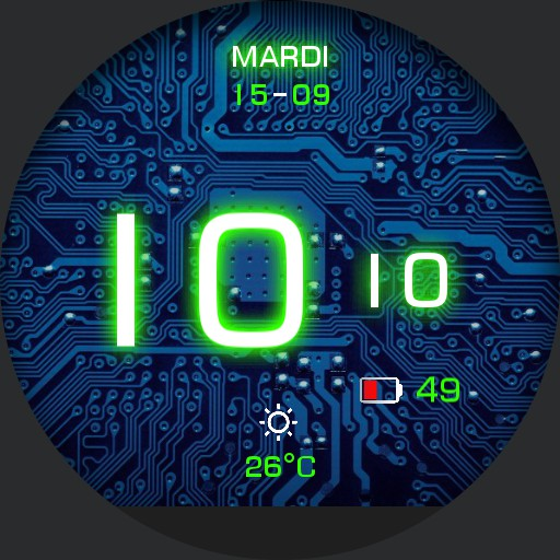 Electronic round