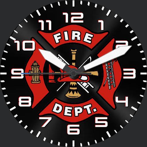 Firefighter watch face Copy