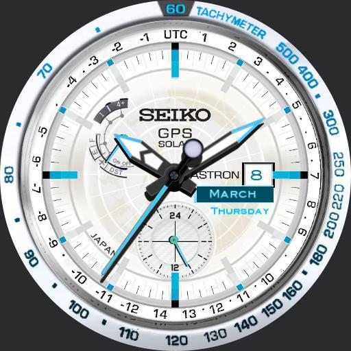 Astron GPS Solar 2.0 WHITE