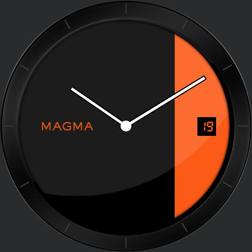 Magma with zoom