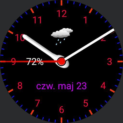 Galaxy Watch Blue