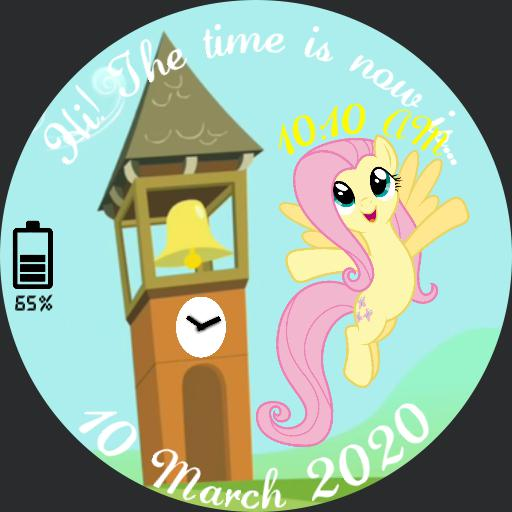 Fluttershy and the Clock Tower
