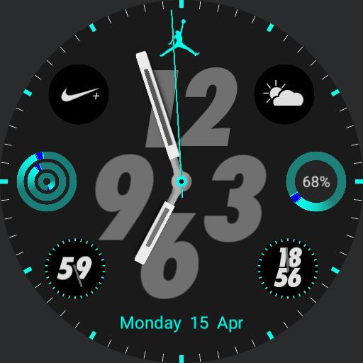 Nike Apple watch jordan 4 by geeceejay  Copy