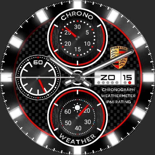 Porsche Chronograph Weathermeter F Copy