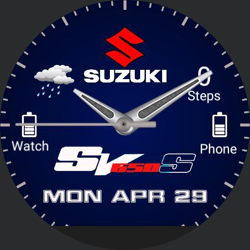 SUZUKI SV650S BLUE Copy