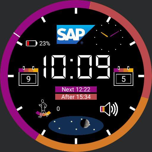 My SAP Digital Watch 2