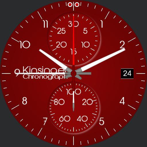 Kinsinger Elegance Chronograph Flat themable