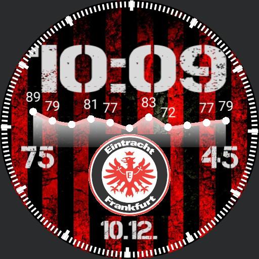 Eintracht Frankfurt SGE mit Puls Klembusch