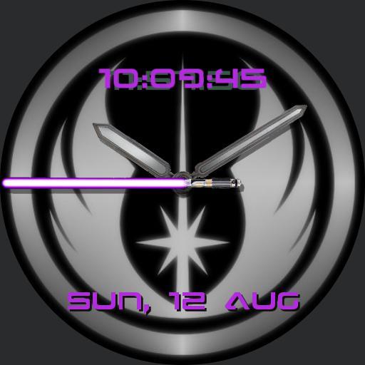 Star Wars Jedi Purple