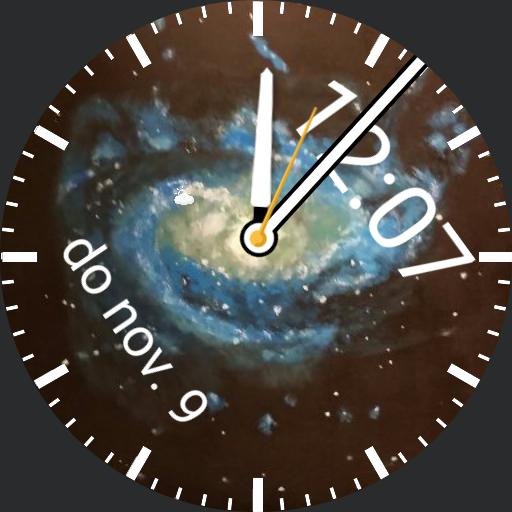 galaxy swirl watch