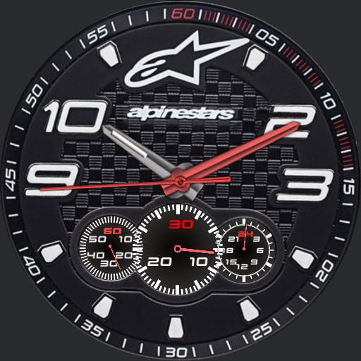 Alpinestars watch face