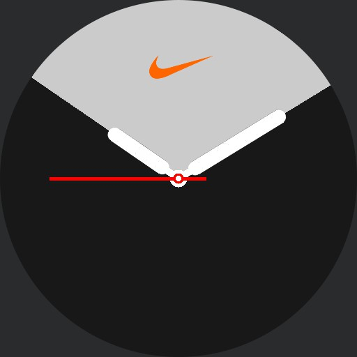 VA Apple Nike Watch Series 5 Zebra with logo