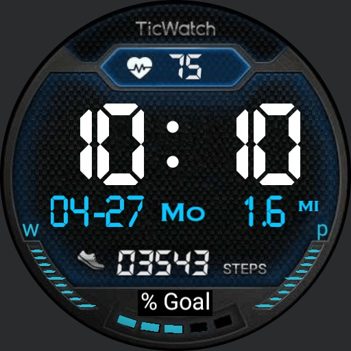 Ticwatch Zoran Blue C3
