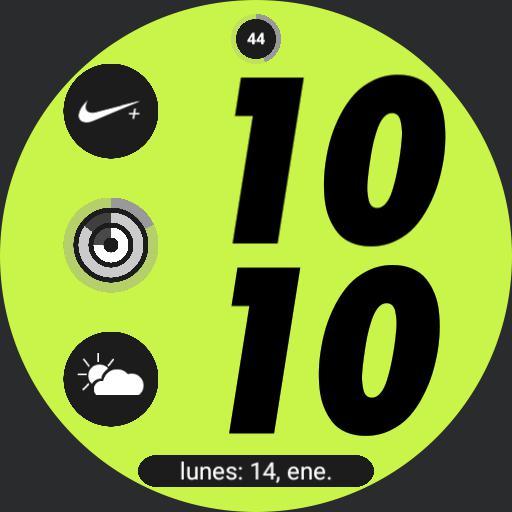 Nike Apple watch digital 7 by geeceejay Copy
