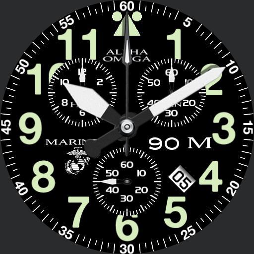 Marines Aeromaster chronograph
