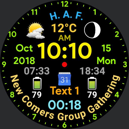 Digital Watch - Wear OS