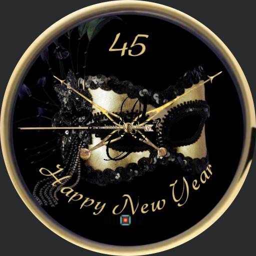 Happy New Year Maske 1 Animation  Copy
