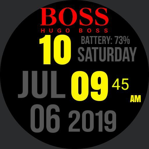 Hugo Boss Big Digit By Nesar. A