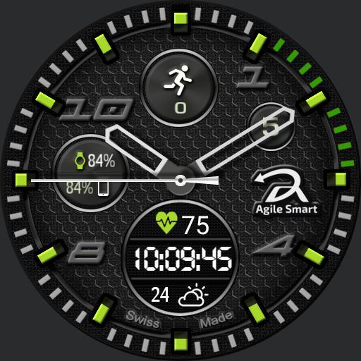 Agile smart ver. 3 green