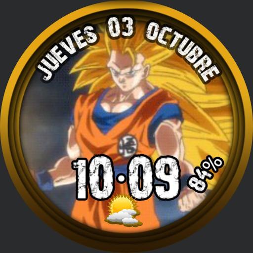 Goku Dargon Ball V Sssayan